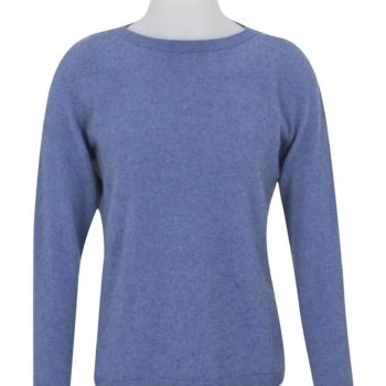 Native World Bluebell Crew Neck Plain Sweater