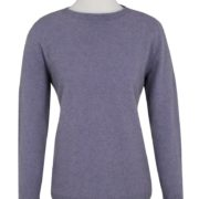 Native World Orchid Crew Neck Plain Sweater