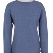 Native World Bluebell Crew Neck Diamond Lace Sweater
