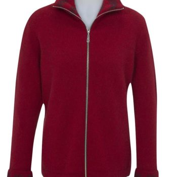Native World Berry Fern Zip Jacket