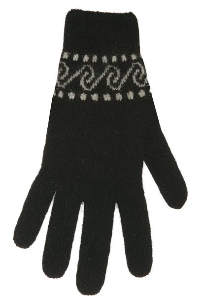 Native World Black Koru Glove