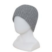 Native World Silver Seamless Rib Beanie