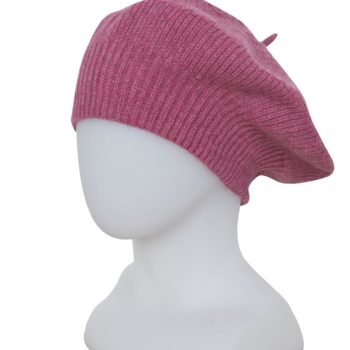 Native World Raspberry Textured Beret