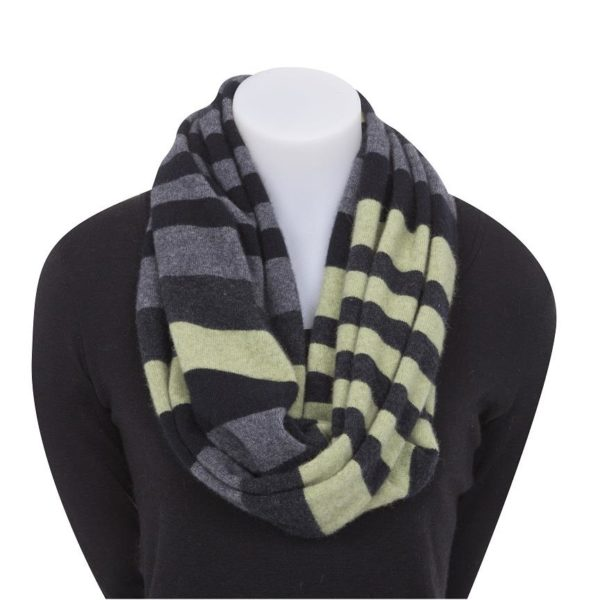 Native World Apple 4 Tone Block Colour Loop Scarf