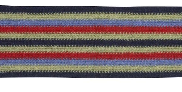 Native World Twilight Striped Loop Scarf Side View