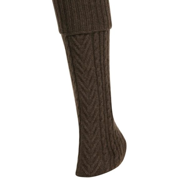 Native World Cinnamon Cable Leg Warmer