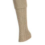 Native World Flax Cable Leg Warmer