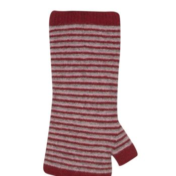 Native World Berry Striped Wrist Warmer