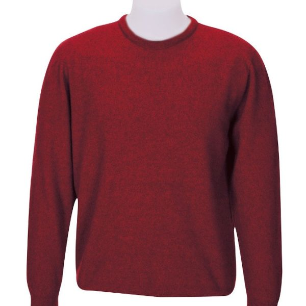 Native World Red Setter Crew Neck Plain Sweater