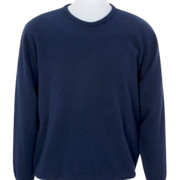 Native World Twilight Crew Neck Plain Knit Sweater