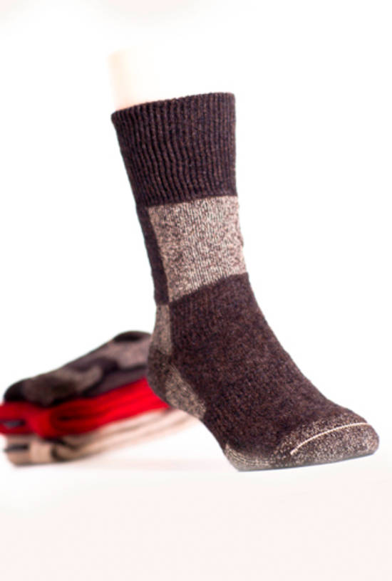 Koru Espresso/Mocha Action Socks