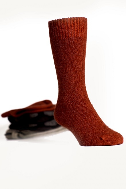 Koru Red Dress Socks