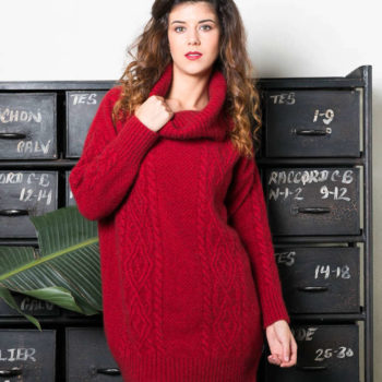 Koru Rata Cable Tunic Jumper