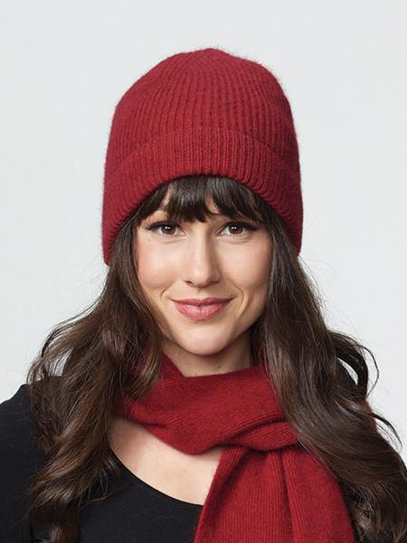 Possumdown Ruby Fashioned Beanie